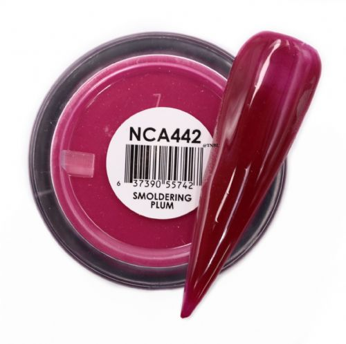 GLAM AND GLITS NAKED COLOR ACRYLIC - NCAC442 SMOLDERING PLUM
